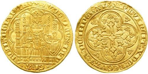1 Ducat States of Germany Oro Louis IV, Holy Roman Emperor (1282-1347)