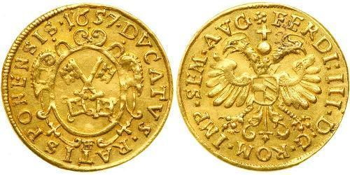 1 Ducat States of Germany Oro