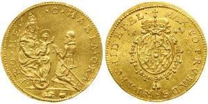 1 Ducat Stati federali della Germania Oro Massimiliano I d
