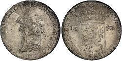 1 Ducat Republik der Sieben Vereinigten Provinzen (1581 - 1795) Silber