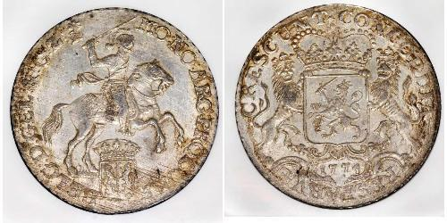 1 Ducaton Австрийские Нидерланды (1713-1795) Серебро