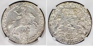 1 Ducaton Республика Соединённых провинций (1581 - 1795) Серебро
