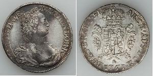 1 Ducaton Paesi Bassi austriaci (1713-1795) Argento Maria Theresa of Austria (1717 - 1780)
