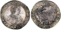 1 Ducaton Provincias Unidas de los Países Bajos (1581 - 1795) Plata Carlos II de España (1661-1700)