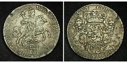 1 Ducaton Provincias Unidas de los Países Bajos (1581 - 1795) Plata