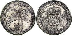 1 Ducaton Republik der Sieben Vereinigten Provinzen (1581 - 1795) Silber