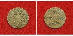 1 Duit Repubblica delle Sette Province Unite (1581 - 1795) Rame
