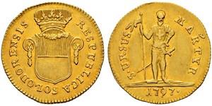 1 Duplone Швейцария Золото
