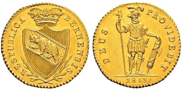 1 Duplone Швейцарія Золото