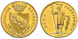 1 Duplone 瑞士 金