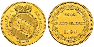 1 Duplone Schweiz Gold