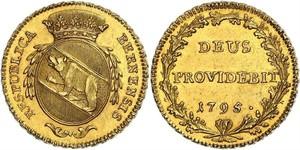 1 Duplone Switzerland Gold