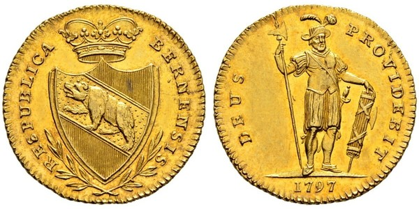 1 Duplone Switzerland Gold