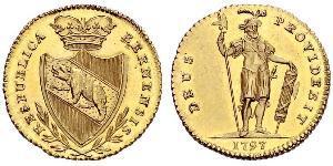1 Duplone Suisse Or