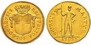 1 Duplone Svizzera Oro