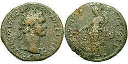 1 Dupondius Römische Kaiserzeit (27BC-395) Bronze Domitian  (51-96)