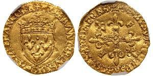 1 Ecu Kingdom of France (843-1791) Gold Francis I of France (1494 - 1547)