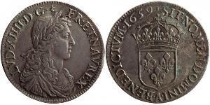 1 Ecu Frankreich Silber Ludwig XIV (1638-1715)