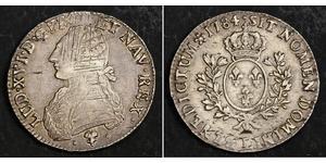 1 Ecu Kingdom of France (843-1791) Silver Louis XVI of France (1754 - 1793)