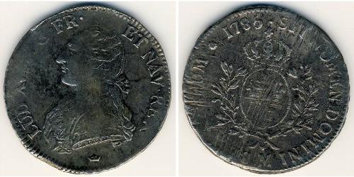 1 Ecu Kingdom of France (843-1791) Silver