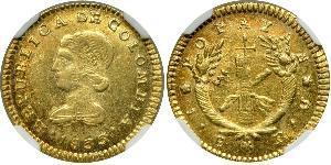 1 Escudo 大哥倫比亞共和國 (1821 - 1831) 金