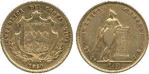 1 Escudo Costa Rica 金