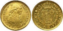 1 Escudo Chile Gold Ferdinand VII. von Spanien (1784-1833)