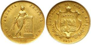 1 Escudo Costa Rica Gold
