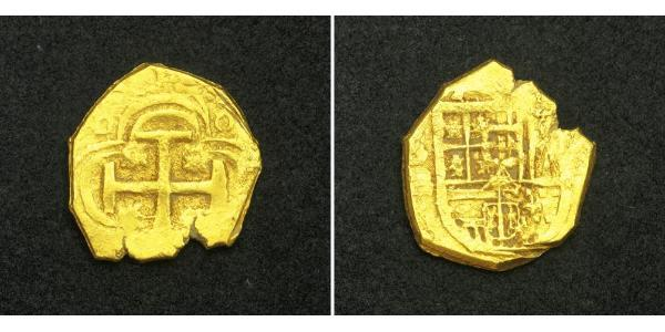 1 Escudo Habsburg Empire (1526-1804) / Spain Gold Philip II of Spain (1527-1598)