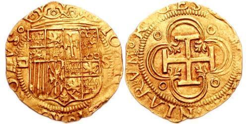 1 Escudo Kingdom of Portugal (1139-1910) Gold