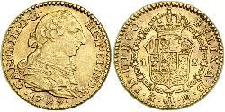 1 Escudo Spain Gold Charles III of Spain (1716 -1788)