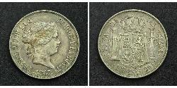 1 Escudo Spanien Silber