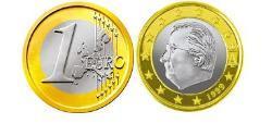 1 Euro Belgium Bimetal Albert II of Belgium