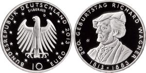1 Euro Federal Republic of Germany (1990 - ) Silver