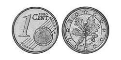 1 Euro Federal Republic of Germany (1990 - ) Steel