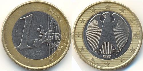 1 Euro Alemania