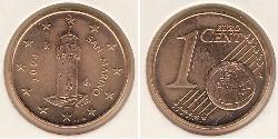 1 Eurocent San Marino Bronze