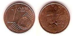 1 Eurocent French Fifth Republic (1958 - ) Steel/Copper