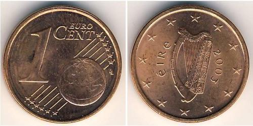 1 Eurocent Ireland (1922 - ) Steel/Copper
