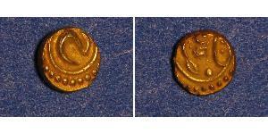 1 Fanam 印度 金