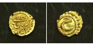 1 Fanam Indien Gold