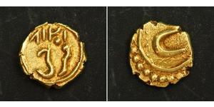 1 Fanam India Oro