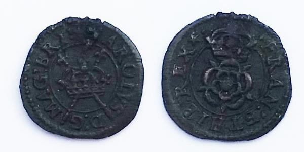 1 Farthing Kingdom of England (927-1649,1660-1707) Bronze Charles I (1600-1649)