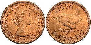 1 Farthing United Kingdom (1922-) Bronze Elizabeth II (1926-)