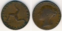 1 Farthing Isle of Man Copper