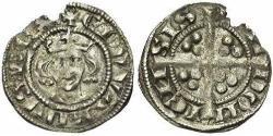 1 Farthing Kingdom of England (927-1649,1660-1707) Silver Edward I (1239 - 1307)