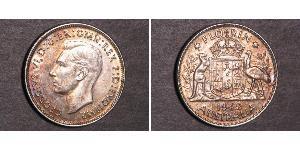 1 Florin 澳大利亚 銀 乔治六世 (1895-1952)