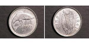 1 Florin 爱尔兰共和国 銅/镍