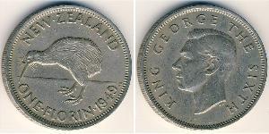 1 Florin New Zealand Copper/Nickel George VI (1895-1952)