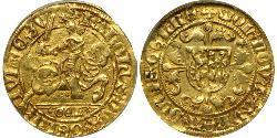 1 Florin Kingdom of the Netherlands (1815 - ) Gold